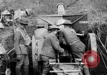 Image of United States Army artillery firing 155mm howitzers Western Front, 1917, second 10 stock footage video 65675072381
