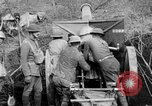 Image of United States Army artillery firing 155mm howitzers Western Front, 1917, second 13 stock footage video 65675072381