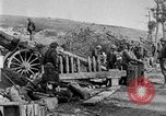 Image of United States Army artillery firing 155mm howitzers Western Front, 1917, second 26 stock footage video 65675072381