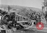 Image of United States Army artillery firing 155mm howitzers Western Front, 1917, second 27 stock footage video 65675072381