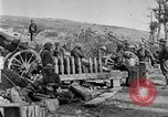 Image of United States Army artillery firing 155mm howitzers Western Front, 1917, second 31 stock footage video 65675072381