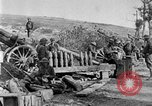 Image of United States Army artillery firing 155mm howitzers Western Front, 1917, second 33 stock footage video 65675072381