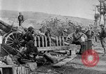 Image of United States Army artillery firing 155mm howitzers Western Front, 1917, second 36 stock footage video 65675072381