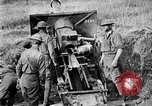 Image of United States Army artillery firing 155mm howitzers Western Front, 1917, second 37 stock footage video 65675072381