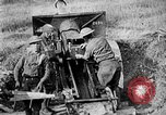 Image of United States Army artillery firing 155mm howitzers Western Front, 1917, second 55 stock footage video 65675072381