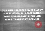 Image of 5th Air Force Pacific Theater, 1942, second 13 stock footage video 65675072394
