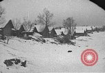 Image of snow fall Russia, 1918, second 9 stock footage video 65675072426