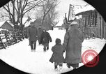 Image of snow fall Russia, 1918, second 16 stock footage video 65675072426