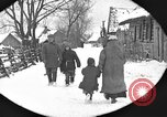Image of snow fall Russia, 1918, second 17 stock footage video 65675072426