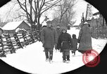 Image of snow fall Russia, 1918, second 19 stock footage video 65675072426