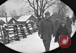 Image of snow fall Russia, 1918, second 21 stock footage video 65675072426