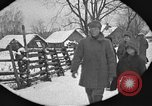 Image of snow fall Russia, 1918, second 22 stock footage video 65675072426