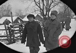 Image of snow fall Russia, 1918, second 25 stock footage video 65675072426