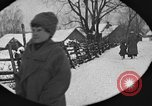 Image of snow fall Russia, 1918, second 27 stock footage video 65675072426