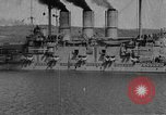 Image of Russian ships Black Sea, 1915, second 2 stock footage video 65675072428