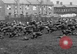 Image of American airmen exercise and calisthenics World War I London England United Kingdom, 1917, second 6 stock footage video 65675072433