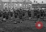 Image of American airmen exercise and calisthenics World War I London England United Kingdom, 1917, second 12 stock footage video 65675072433