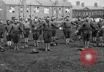 Image of American airmen exercise and calisthenics World War I London England United Kingdom, 1917, second 13 stock footage video 65675072433