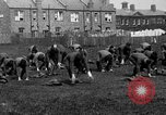 Image of American airmen exercise and calisthenics World War I London England United Kingdom, 1917, second 19 stock footage video 65675072433
