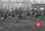 Image of American airmen exercise and calisthenics World War I London England United Kingdom, 1917, second 22 stock footage video 65675072433