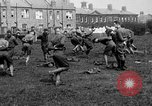 Image of American airmen exercise and calisthenics World War I London England United Kingdom, 1917, second 28 stock footage video 65675072433