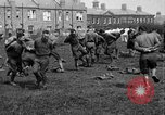 Image of American airmen exercise and calisthenics World War I London England United Kingdom, 1917, second 35 stock footage video 65675072433