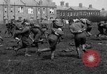 Image of American airmen exercise and calisthenics World War I London England United Kingdom, 1917, second 37 stock footage video 65675072433