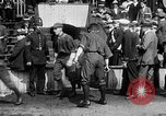 Image of Army versus Navy baseball in Anglo American Baseball League London England United Kingdom, 1917, second 9 stock footage video 65675072434
