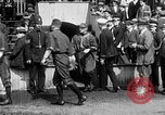 Image of Army versus Navy baseball in Anglo American Baseball League London England United Kingdom, 1917, second 10 stock footage video 65675072434