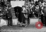 Image of Army versus Navy baseball in Anglo American Baseball League London England United Kingdom, 1917, second 12 stock footage video 65675072434