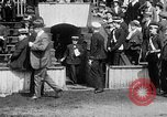 Image of Army versus Navy baseball in Anglo American Baseball League London England United Kingdom, 1917, second 13 stock footage video 65675072434