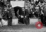 Image of Army versus Navy baseball in Anglo American Baseball League London England United Kingdom, 1917, second 14 stock footage video 65675072434