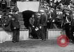 Image of Army versus Navy baseball in Anglo American Baseball League London England United Kingdom, 1917, second 15 stock footage video 65675072434