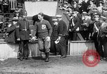 Image of Army versus Navy baseball in Anglo American Baseball League London England United Kingdom, 1917, second 17 stock footage video 65675072434