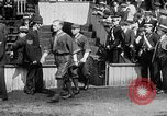 Image of Army versus Navy baseball in Anglo American Baseball League London England United Kingdom, 1917, second 19 stock footage video 65675072434