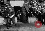 Image of Army versus Navy baseball in Anglo American Baseball League London England United Kingdom, 1917, second 20 stock footage video 65675072434