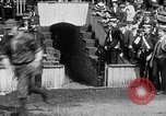 Image of Army versus Navy baseball in Anglo American Baseball League London England United Kingdom, 1917, second 22 stock footage video 65675072434