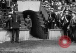 Image of Army versus Navy baseball in Anglo American Baseball League London England United Kingdom, 1917, second 23 stock footage video 65675072434