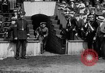 Image of Army versus Navy baseball in Anglo American Baseball League London England United Kingdom, 1917, second 24 stock footage video 65675072434
