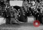 Image of Army versus Navy baseball in Anglo American Baseball League London England United Kingdom, 1917, second 25 stock footage video 65675072434