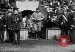 Image of Army versus Navy baseball in Anglo American Baseball League London England United Kingdom, 1917, second 30 stock footage video 65675072434