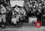 Image of Army versus Navy baseball in Anglo American Baseball League London England United Kingdom, 1917, second 32 stock footage video 65675072434