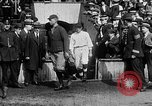 Image of Army versus Navy baseball in Anglo American Baseball League London England United Kingdom, 1917, second 34 stock footage video 65675072434