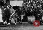 Image of Army versus Navy baseball in Anglo American Baseball League London England United Kingdom, 1917, second 36 stock footage video 65675072434