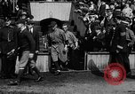 Image of Army versus Navy baseball in Anglo American Baseball League London England United Kingdom, 1917, second 37 stock footage video 65675072434