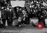 Image of Army versus Navy baseball in Anglo American Baseball League London England United Kingdom, 1917, second 39 stock footage video 65675072434