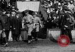 Image of Army versus Navy baseball in Anglo American Baseball League London England United Kingdom, 1917, second 40 stock footage video 65675072434