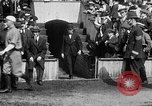 Image of Army versus Navy baseball in Anglo American Baseball League London England United Kingdom, 1917, second 42 stock footage video 65675072434