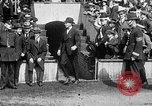 Image of Army versus Navy baseball in Anglo American Baseball League London England United Kingdom, 1917, second 43 stock footage video 65675072434