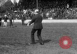 Image of Army versus Navy baseball in Anglo American Baseball League London England United Kingdom, 1917, second 52 stock footage video 65675072434